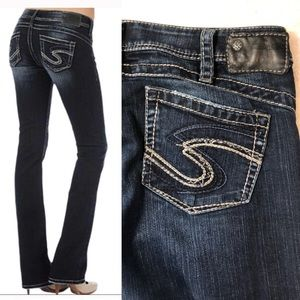 "Silver Jeans • Tuesday 16.5"" Boot Jeans • Sz 30"